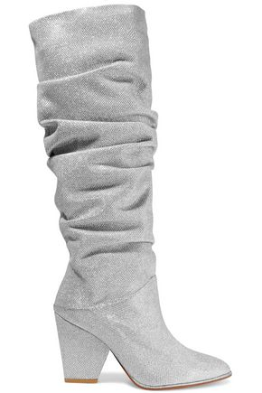 STUART WEITZMAN Leather knee boots