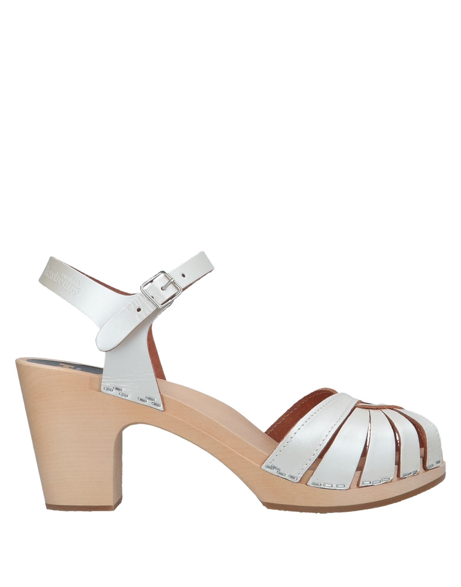 SWEDISH HASBEENS Sandals in Ivory