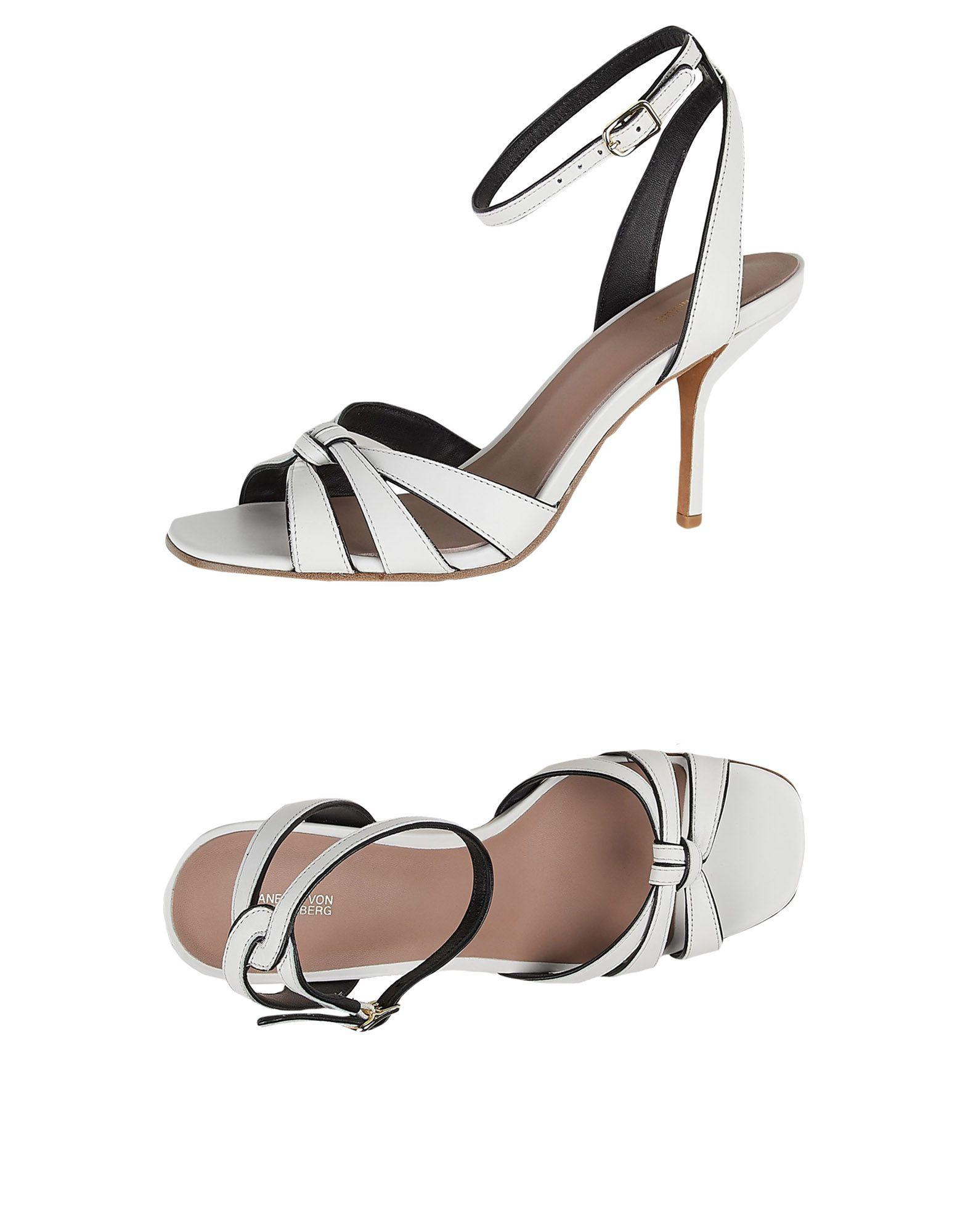 Diane Von Furstenberg Leathers Sandals