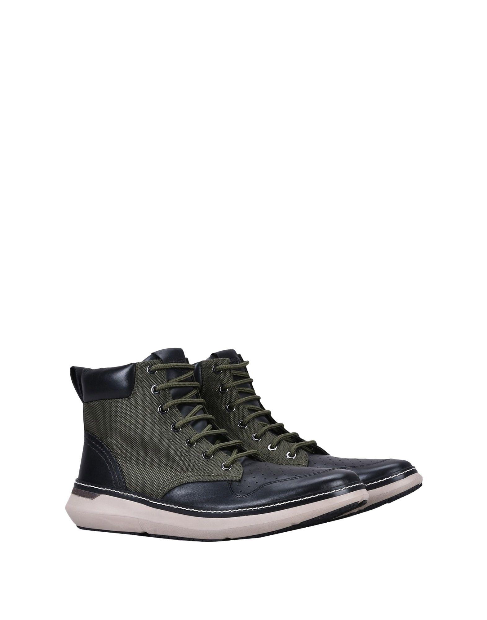 ARMANI JEANS Высокие кеды и кроссовки недорго, оригинальная цена