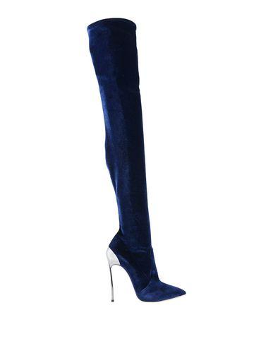 Фото - Женские сапоги  темно-синего цвета