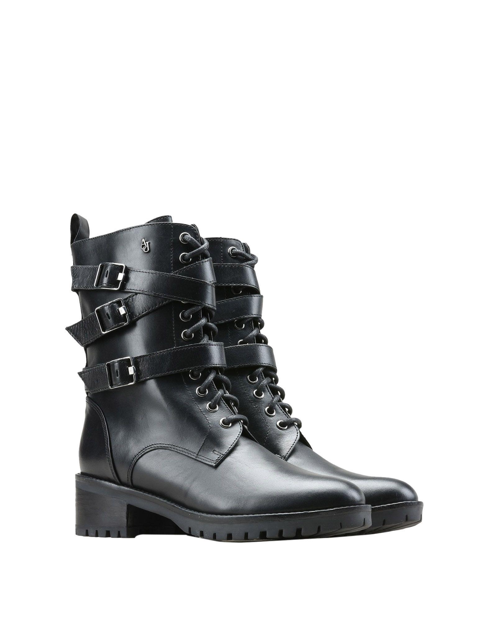 купить ARMANI JEANS Полусапоги и высокие ботинки по цене 14000 рублей