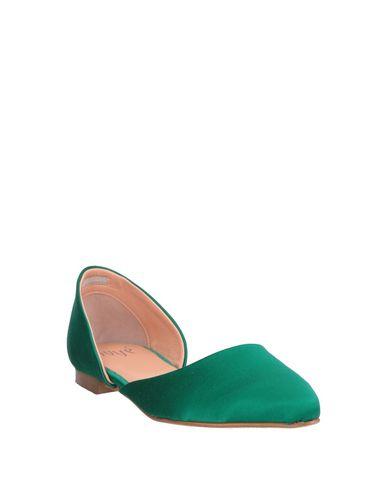 Фото 2 - Женские балетки  зеленого цвета
