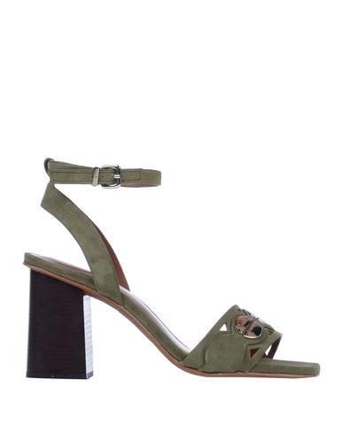 Купить Женские сандали  цвет зеленый-милитари