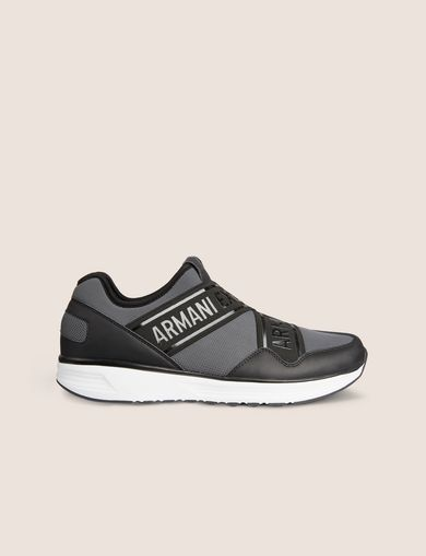 LOGO TAPE LOW-TOP ATHLETIC SNEAKER