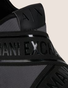 ARMANI EXCHANGE LOGO TAPE LOW-TOP ATHLETIC SNEAKER Sneaker Man a