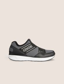 ARMANI EXCHANGE LOGO TAPE LOW-TOP ATHLETIC SNEAKER Sneaker Man f