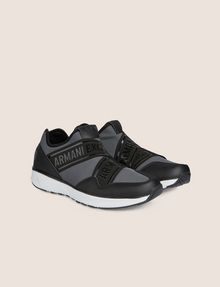 ARMANI EXCHANGE LOGO TAPE LOW-TOP ATHLETIC SNEAKER Sneaker Man r
