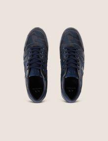 ARMANI EXCHANGE GEO CAMO LOW-TOP SNEAKER Sneakers [*** pickupInStoreShippingNotGuaranteed_info ***] e