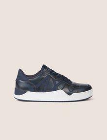 ARMANI EXCHANGE GEO CAMO LOW-TOP SNEAKER Sneakers [*** pickupInStoreShippingNotGuaranteed_info ***] f