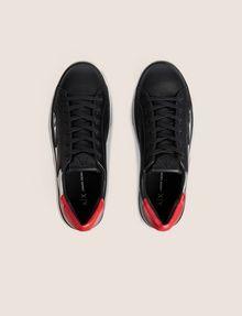 ARMANI EXCHANGE ZIGZAG COLORBLOCK LOW-TOP SNEAKER Sneakers [*** pickupInStoreShipping_info ***] e