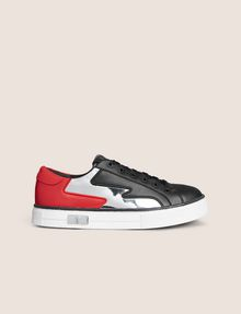 ARMANI EXCHANGE ZIGZAG COLORBLOCK LOW-TOP SNEAKER Sneakers Woman f