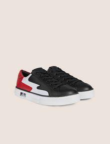 ARMANI EXCHANGE ZIGZAG COLORBLOCK LOW-TOP SNEAKER Sneakers [*** pickupInStoreShipping_info ***] r