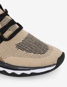 ARMANI EXCHANGE SPORT-KNIT TRICOLOR LOW-TOP SNEAKER Sneakers [*** pickupInStoreShipping_info ***] a