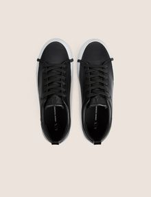 ARMANI EXCHANGE PATENT-EFFECT LOW-TOP Sneakers Woman e