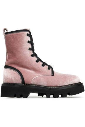 BRUNELLO CUCINELLI Velvet boots