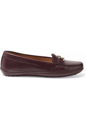 SALVATORE FERRAGAMO Richie leather loafers