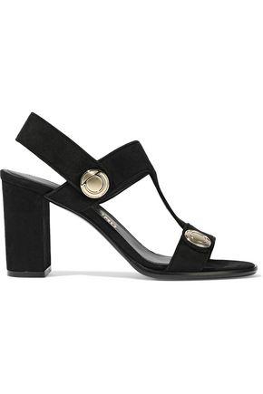 SALVATORE FERRAGAMO Edict suede sandals