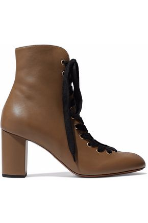 CHLOÉ Miles leather ankle boots