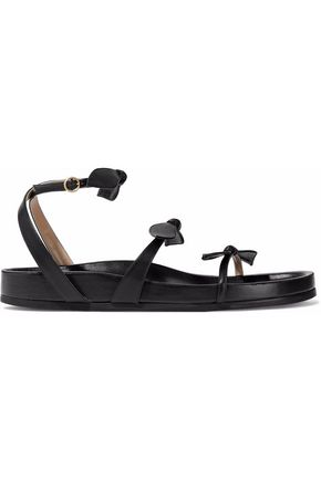 CHLOÉ Mike bow-embellished leather sandals