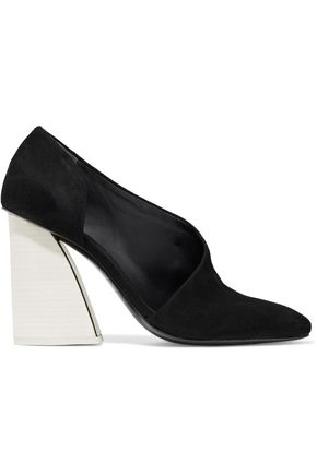 MERCEDES CASTILLO Cara cutout leather pumps