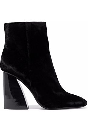 MERCEDES CASTILLO Mc-Kylerhigh velvet ankle boots