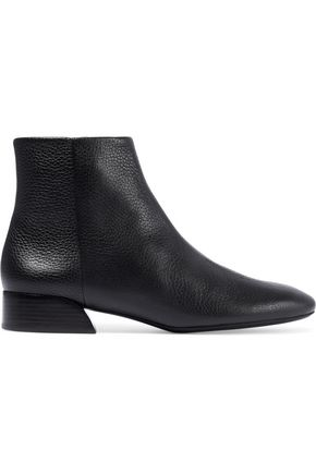 MERCEDES CASTILLO Branda pebbled-leather ankle boots