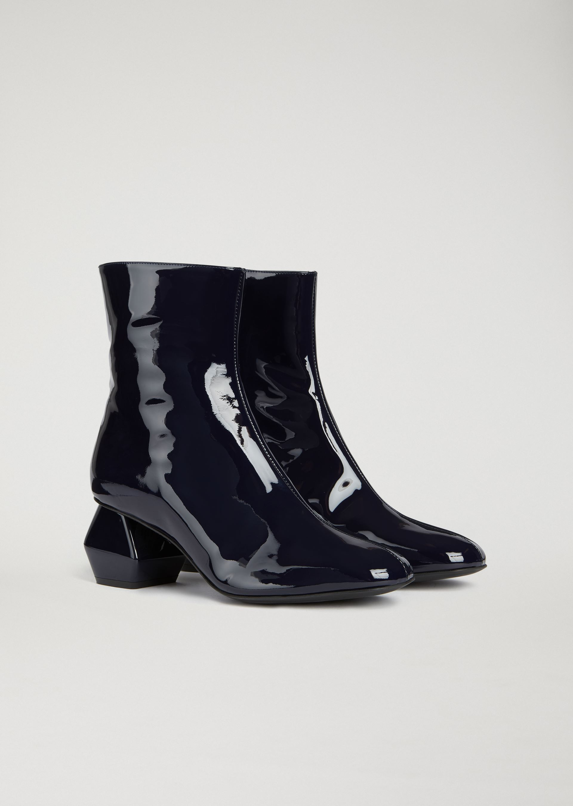 Ankle Boots - Item 11567852, Navy Blue from ARMANI.COM