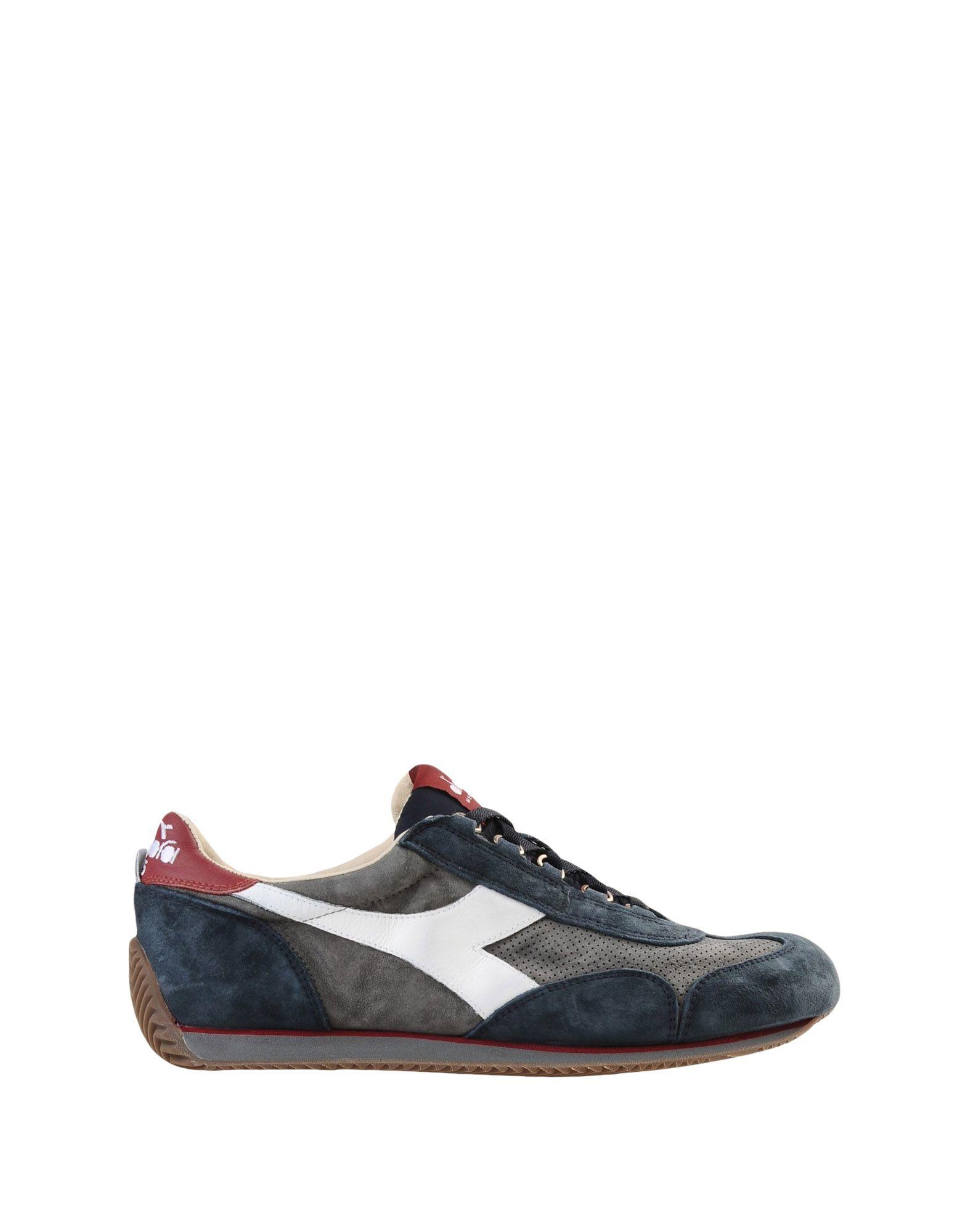 《セール開催中》DIADORA HERITAGE メンズ スニーカー&テニスシューズ(ローカット) グレー 6.5 革 / 紡績繊維 EQUIPE S SW 18