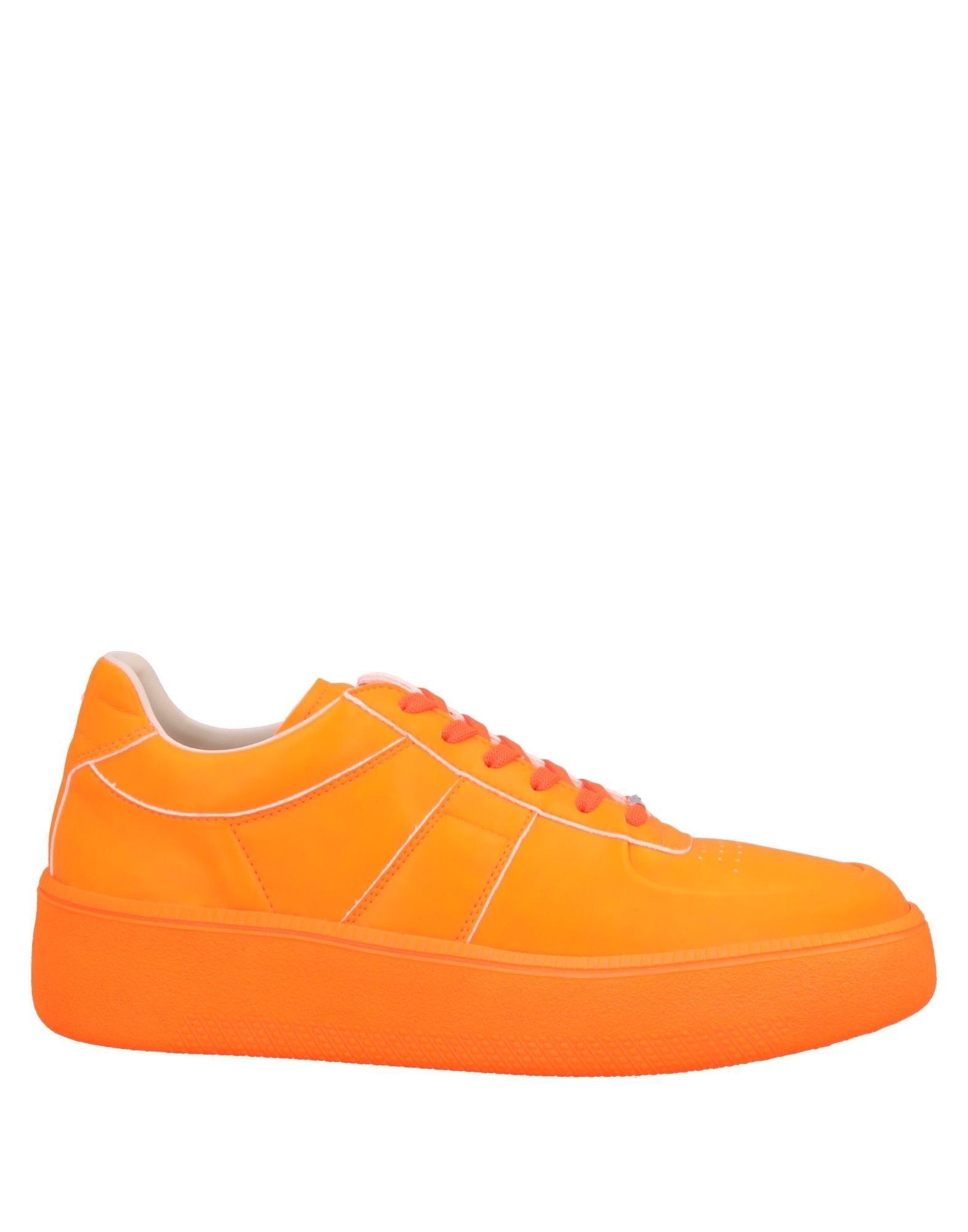 《送料無料》MAISON MARGIELA メンズ スニーカー&テニスシューズ(ローカット) オレンジ 40 紡績繊維