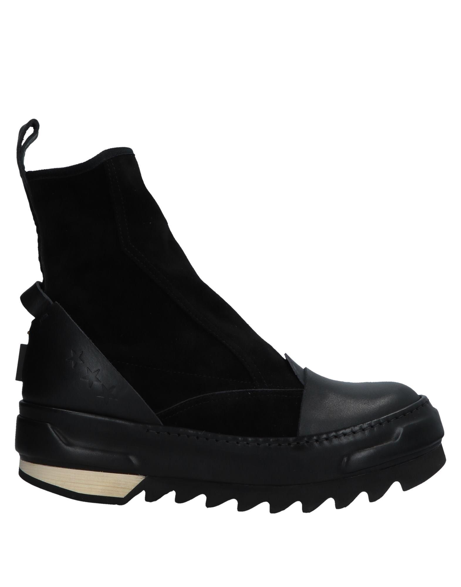 《期間限定セール中》ARTSELAB レディース ショートブーツ ブラック 36 革