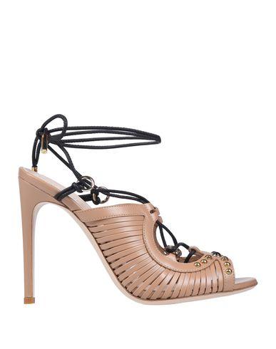 Купить Женские сандали  светло-коричневого цвета