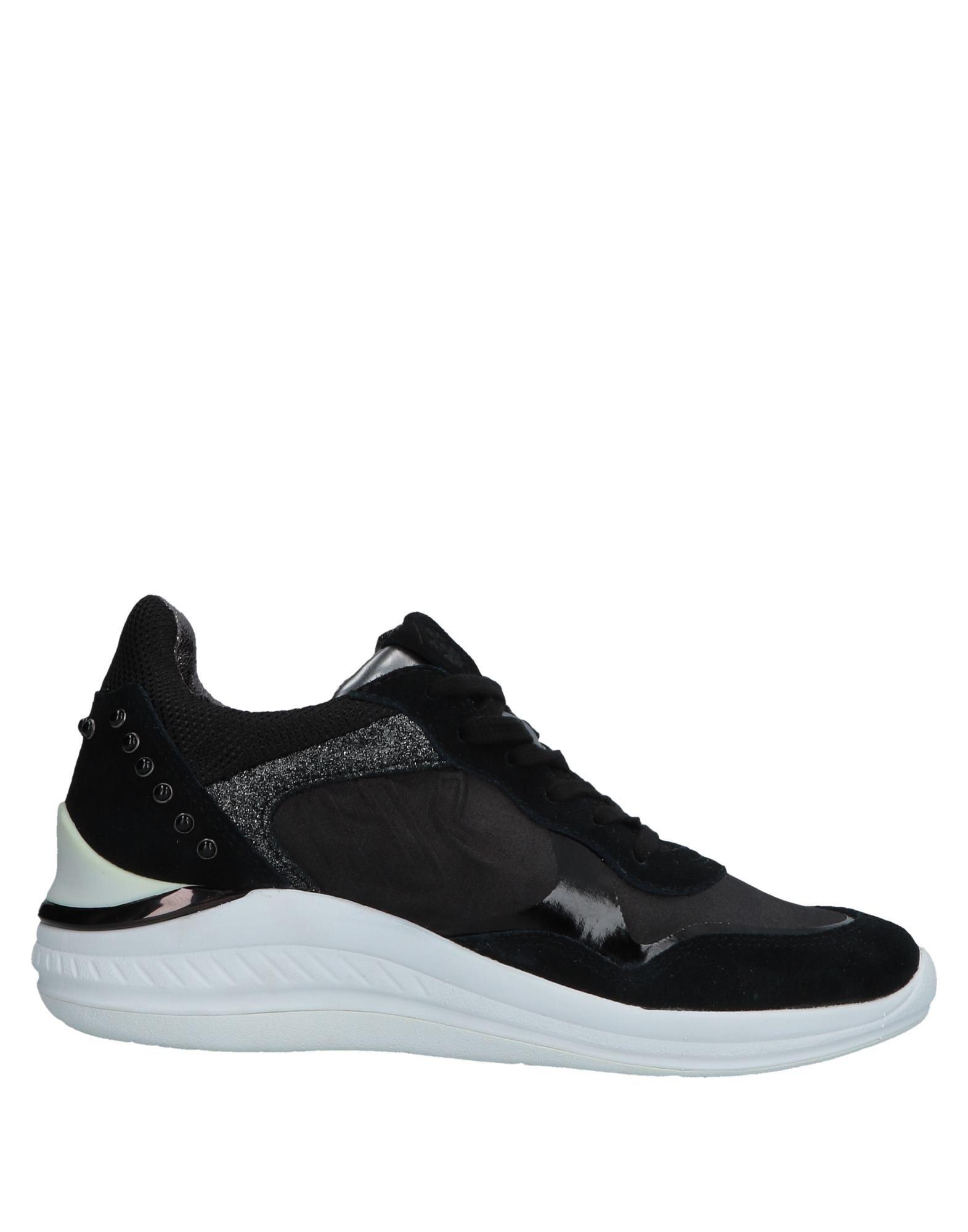 《送料無料》LUMBERJACK レディース スニーカー&テニスシューズ(ローカット) ブラック 35 革 / 紡績繊維