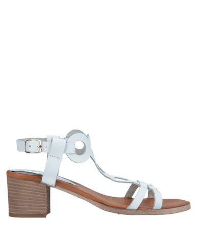 Фото - Женские сандали DONNA ITALIA белого цвета