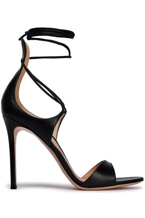 GIANVITO ROSSI Antonia lace-up leather sandals
