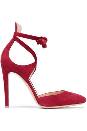 GIANVITO ROSSI Suede pumps