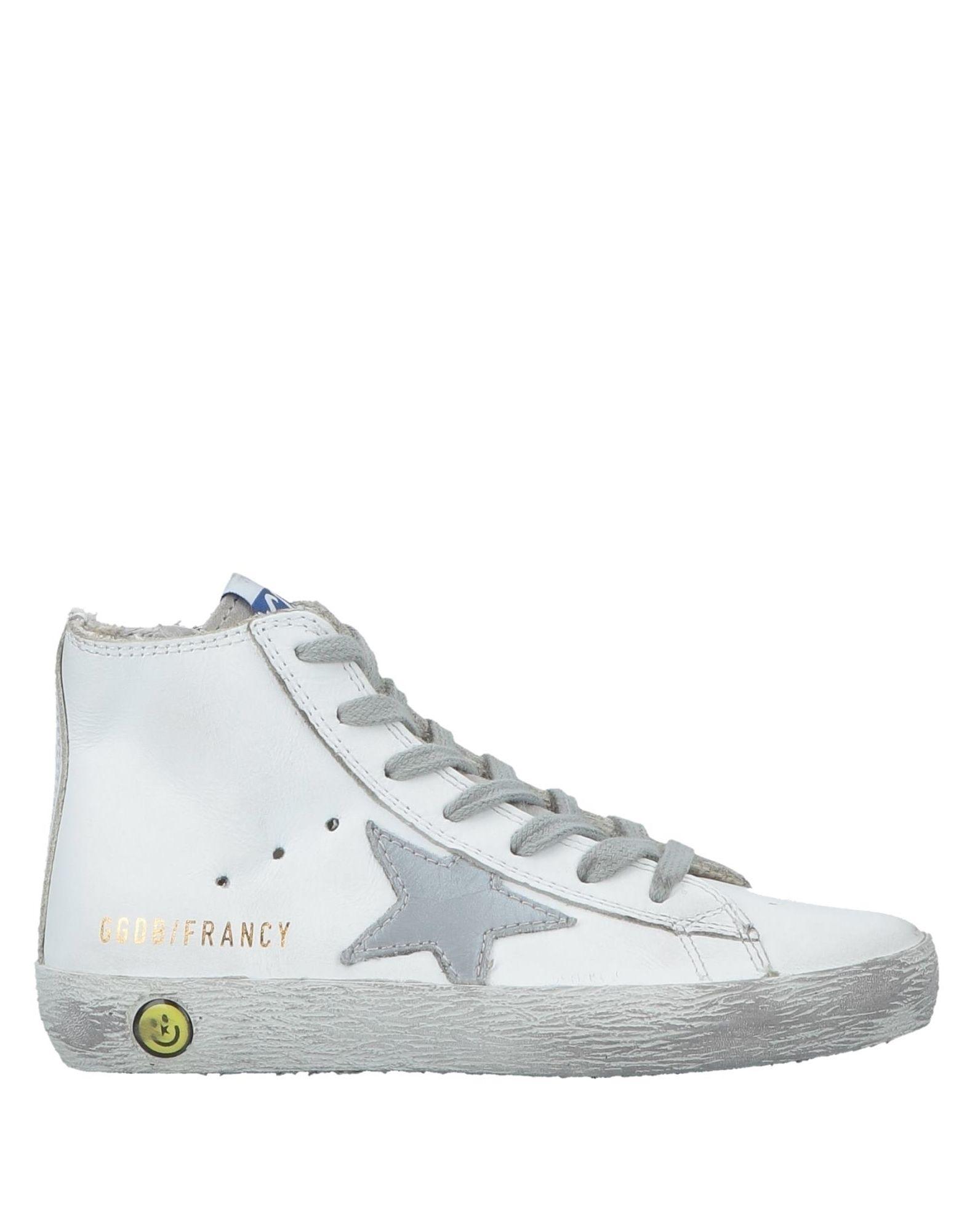 《セール開催中》GOLDEN GOOSE DELUXE BRAND Unisex スニーカー&テニスシューズ(ハイカット) ホワイト 29 革