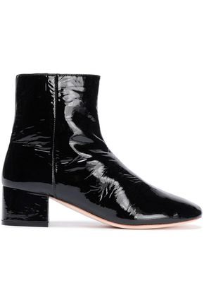 LOEFFLER RANDALL Patent-leather ankle boots