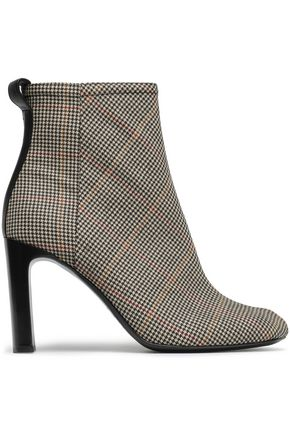 RAG & BONE Houndstooth jacquard ankle boots