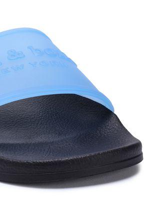 RAG & BONE Rb Pool embossed rubber slides