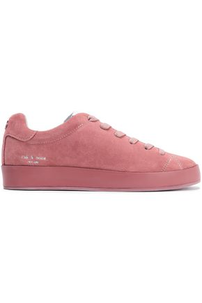 RAG & BONE RB1 Low suede sneakers