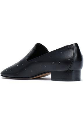 RAG & BONE Studded leather loafers