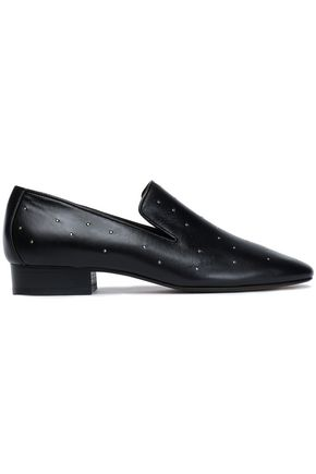 RAG & BONE Studded leather loafers