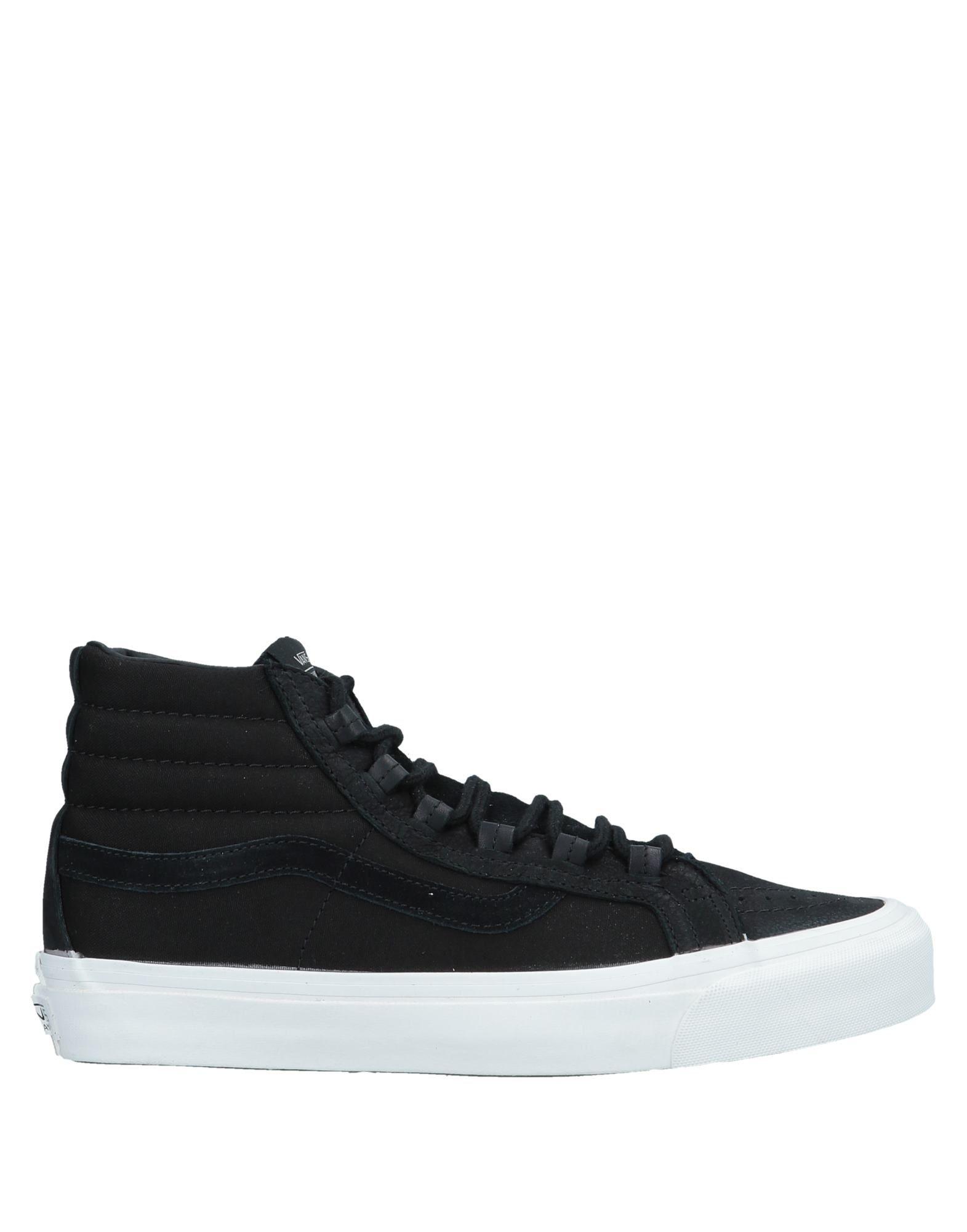 《セール開催中》VANS x TAKA HAYASHI メンズ スニーカー&テニスシューズ(ハイカット) ブラック 11 革 / 紡績繊維