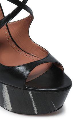 ALAÏA High Heel Sandals