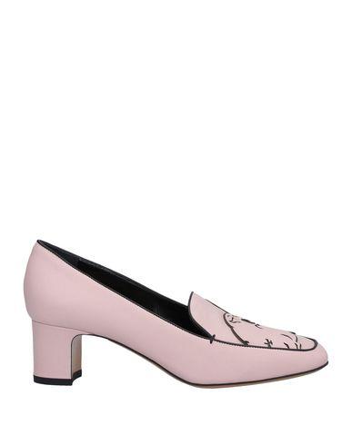 Фото - Женские мокасины  светло-розового цвета