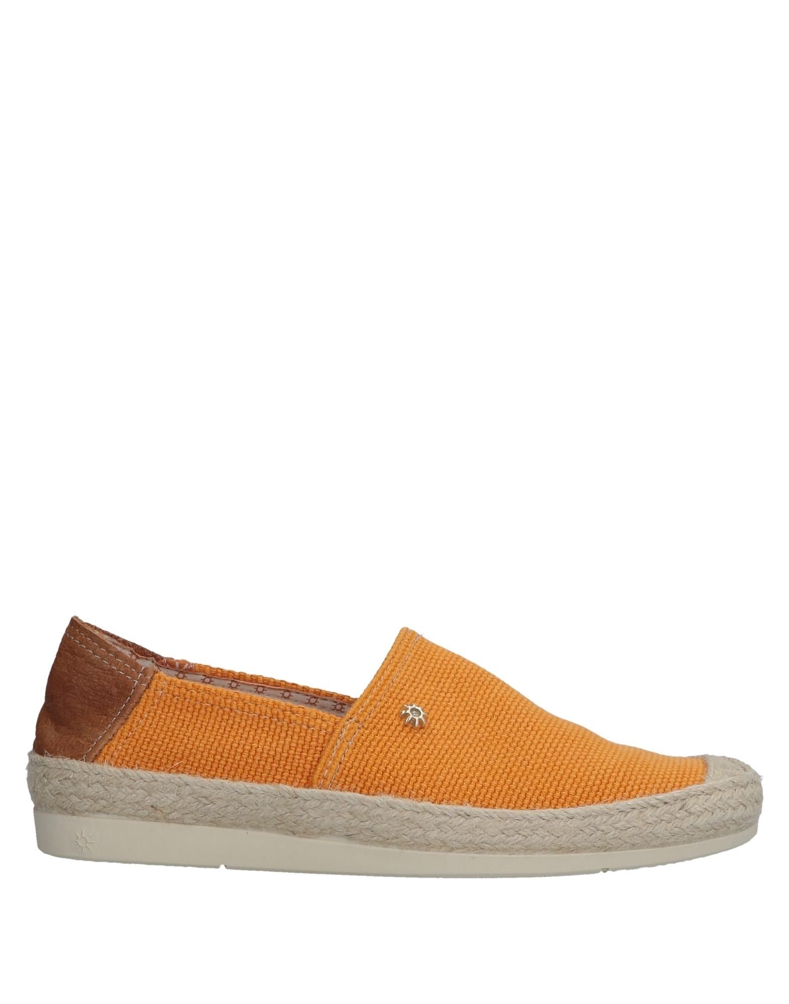 LA SIESTA Damen Espadrilles7 orange