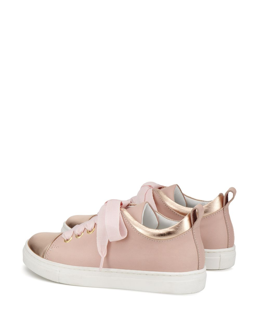 PINK RIBBON SNEAKERS  - Lanvin