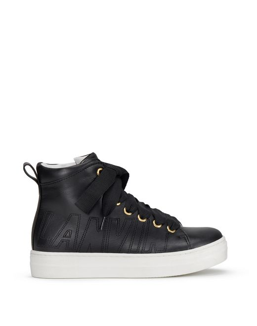 SNEAKERS HIGH-TOP NERE - Lanvin