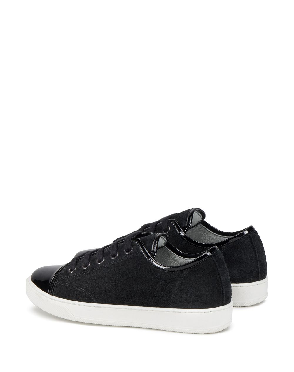 BLACK SNEAKERS    - Lanvin